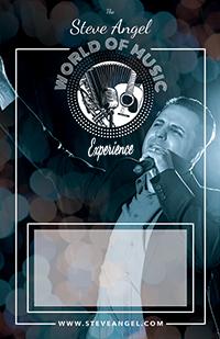 Steve Angel - World of Music - poster